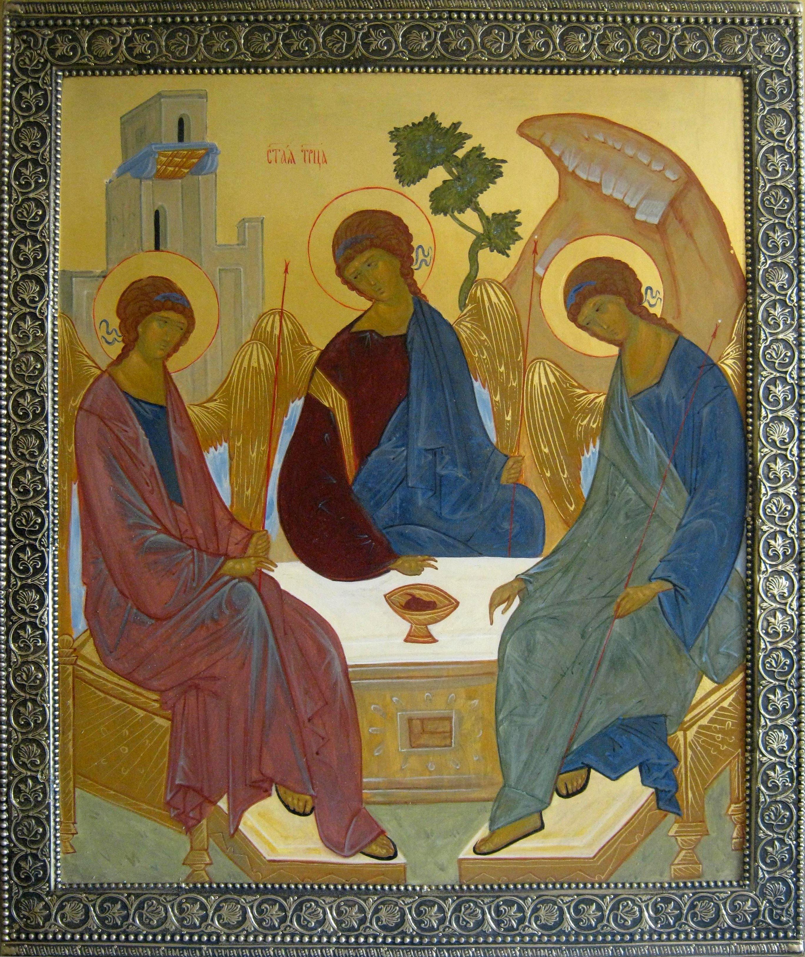 Купить икону Святой Троицы.: sobor-shop.ru/shop/UID_270.html