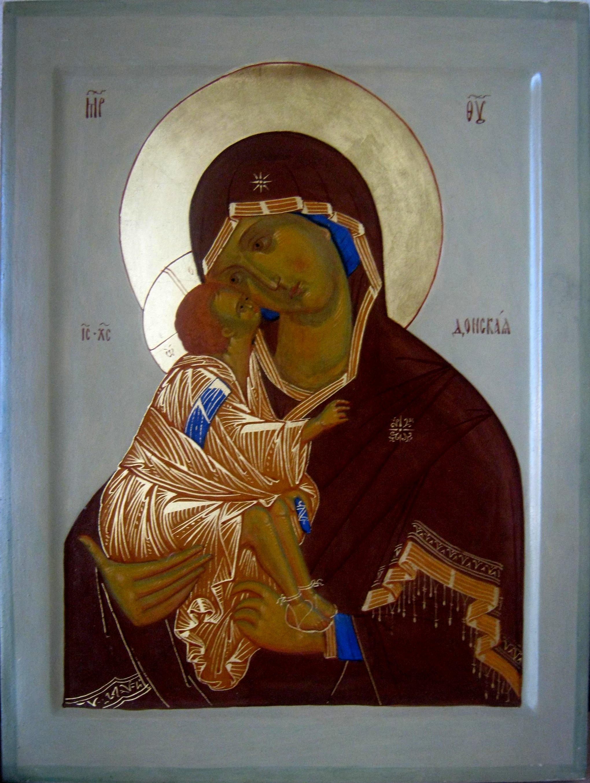 донская икона божией матери: